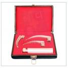 라링고스코프 곡 셋트 (Laryngoscope Set curved 3blade) 17-055L