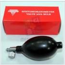 혈압계 스포이드 (Sphygmomanometer Valae w/Bulbe)